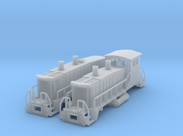 EMD SW1500 Switcher w/B unit 3d printed