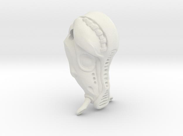 Fifth Element Mondoshawan Head Charm in White Natural Versatile Plastic