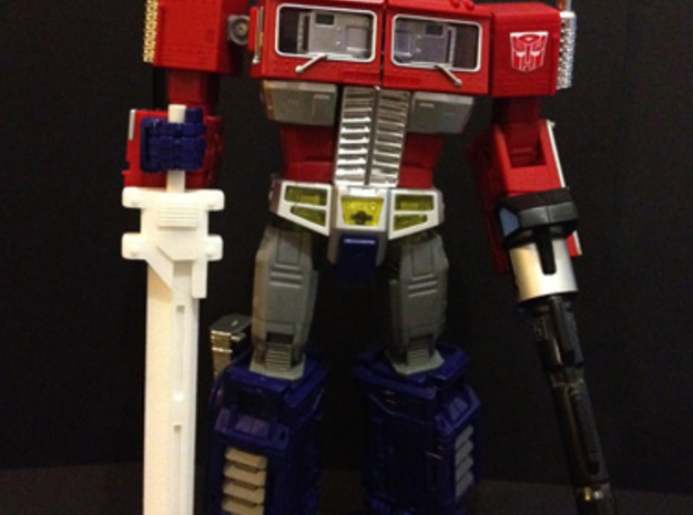 MP-10 Prime Sword Version 2 3d printed