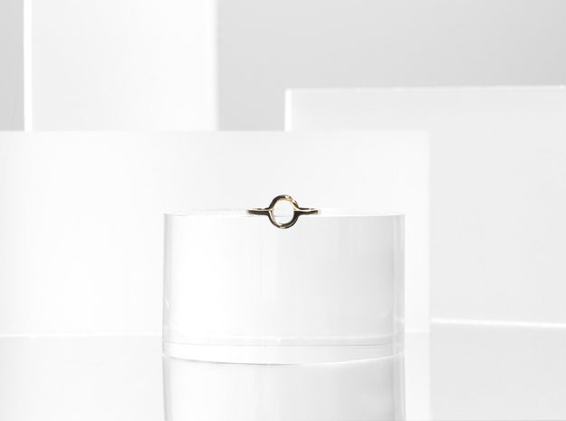 Circle Illusion Ring