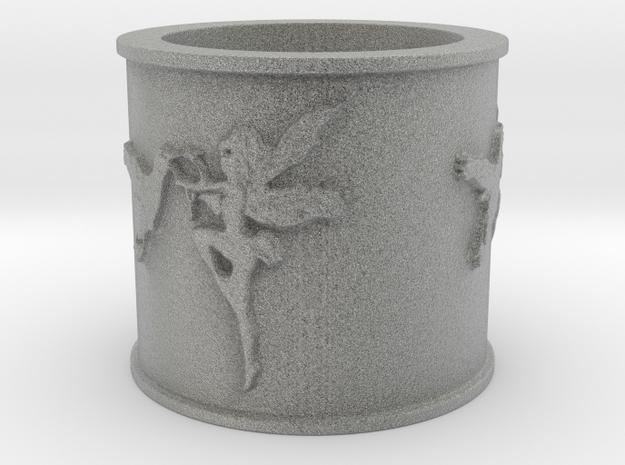 hummingbird garden fairies Ring 6.75 Ultra 3d printed
