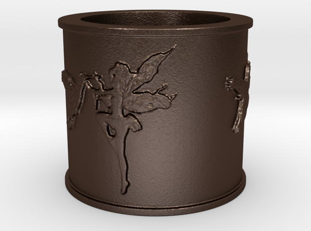 garden fairies Ring Size 6.75 3d printed