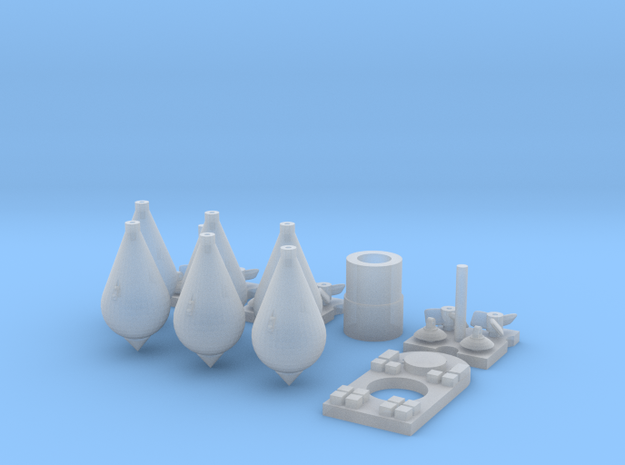 1/32 Carbonit 20kg Kit (6 off) in Smoothest Fine Detail Plastic