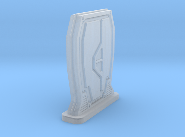 Rebel Freestanding Sci-FI Door in Frosted Extreme Detail