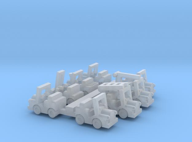 Besatzungsset für 1:220 (z scale)  3d printed