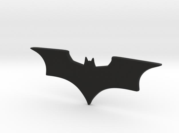 Batman Icon in Black Natural Versatile Plastic
