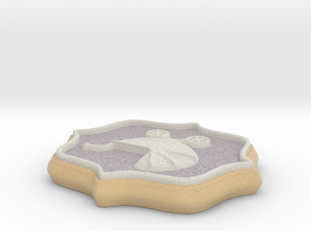 Baby Shower Decorations - Baby Buggy  in Full Color Sandstone