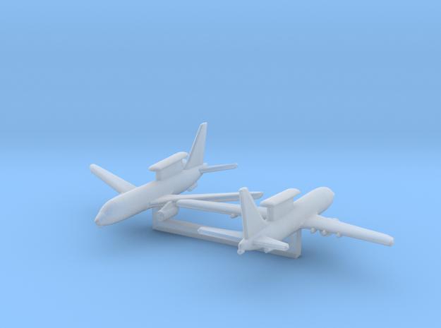 1/1200 Boeing 737 AEW&C (E-7A Wedgetail) 3d printed