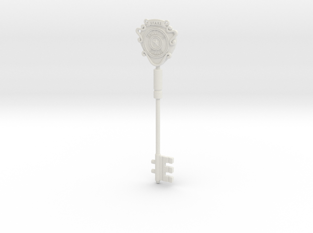 S.T.A.R.S. Office key (Unpainted model) 3d printed