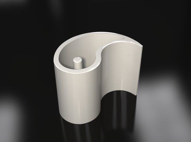 Ba Gua Cup Set 3d printed rendering of a single cup