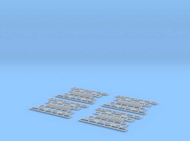 1:35 T-34 Grills Late Economy pack 3d printed