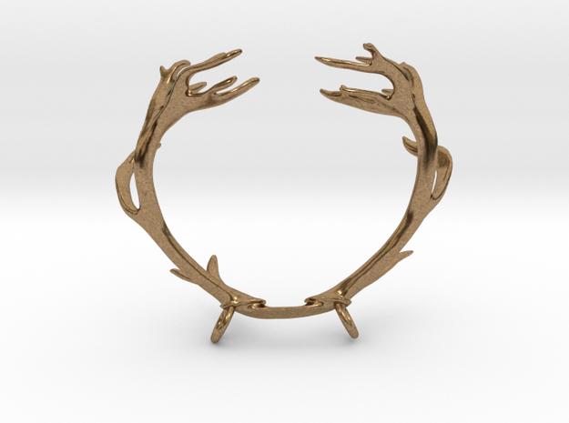 Red Deer Antler Necklace With Loops