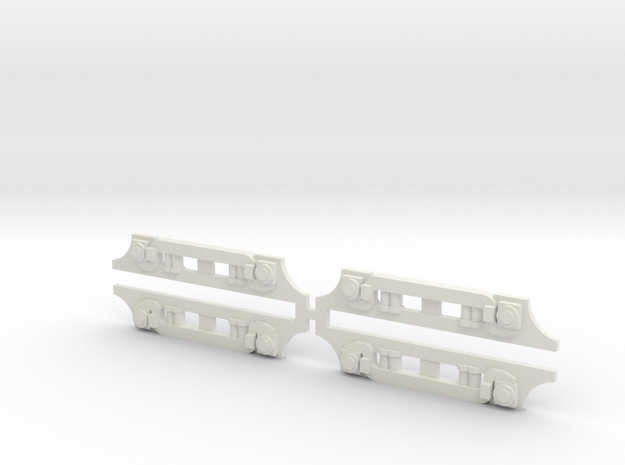CA&E 450 Series GSC Truck Side Frame X4 in White Natural Versatile Plastic
