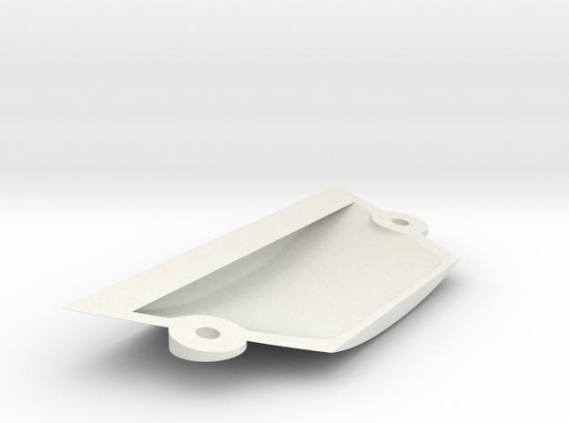 Ranger EX Landing Gear Cover in White Natural Versatile Plastic