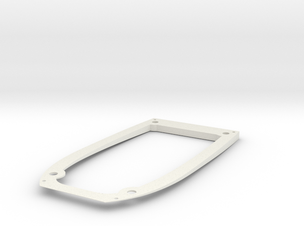 Ranger EX Wing Angle Spacer Bottom Plate in White Natural Versatile Plastic
