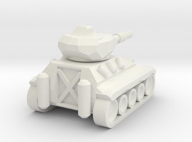 Schützenpanzer Mini in White Strong & Flexible