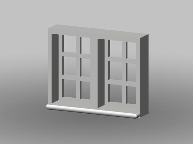 10x8mm Fenster 2-Teilig, 1:160 in Frosted Ultra Detail