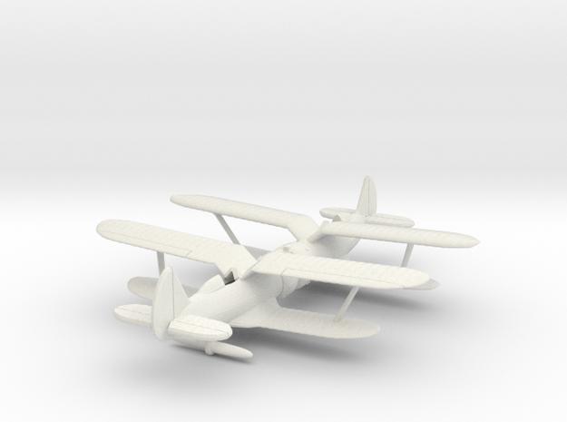 1/200 Polikarpov I-153 x2 3d printed
