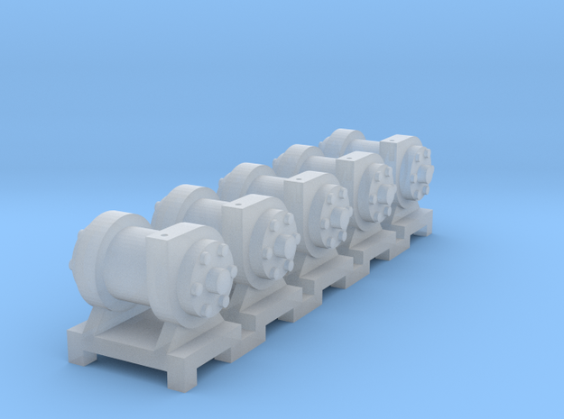 On30 Turbo Generator x5 3d printed