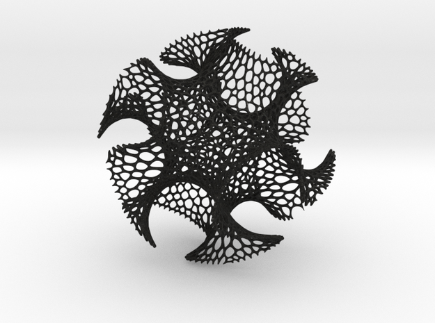 Spherical Voronoi - Gyroid 3d printed