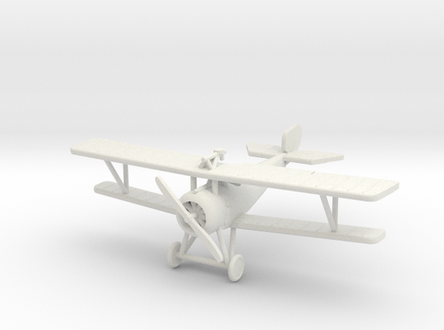 Nieuport 17bis 1:144th Scale in White Natural Versatile Plastic