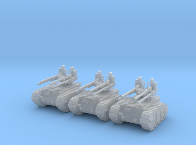 6mm Dieselpunk Mk.F Anti-aircraft vehicle