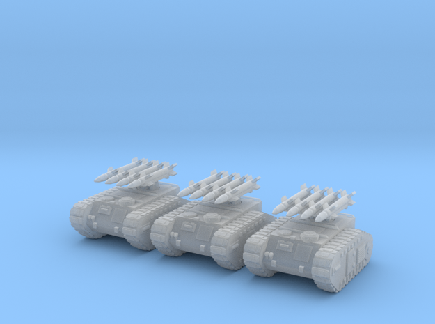 6mm Dieselpunk Mk.H Rocket Battery