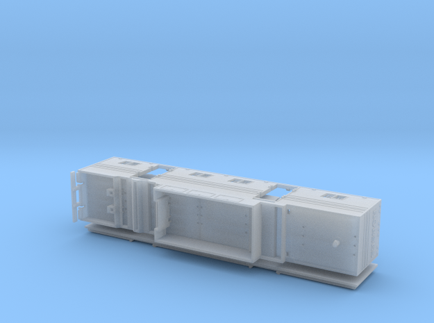 HO 1/87 Horsebox 48' Semi 01 in Frosted Ultra Detail