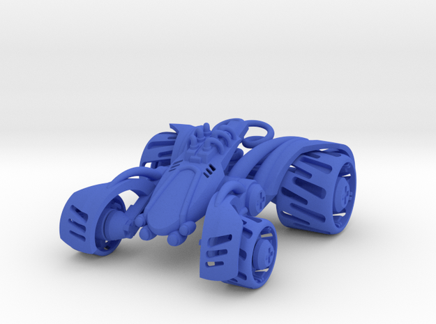 ~Double Shock Car in Blue Processed Versatile Plastic