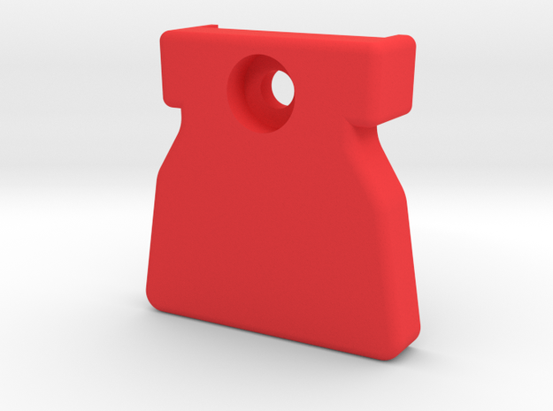 Strider Arm Skid in Red Strong & Flexible Polished