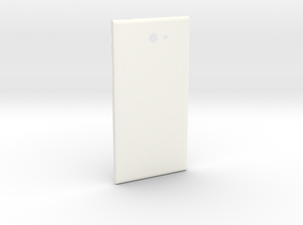The Other Side for Jolla Phone Experimental in White Processed Versatile Plastic