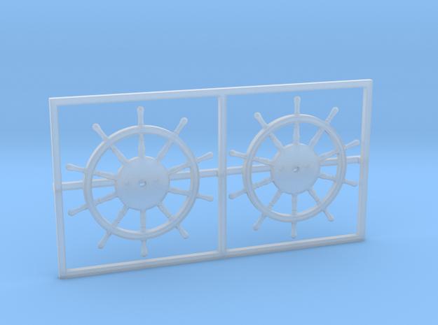 1:78 HMS Victory Ships Wheel 3d printed