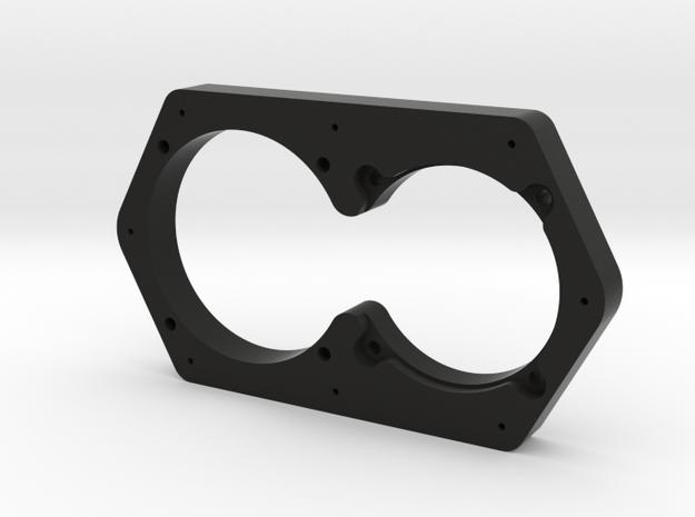 Zero Top Panel Spacer in Black Natural Versatile Plastic