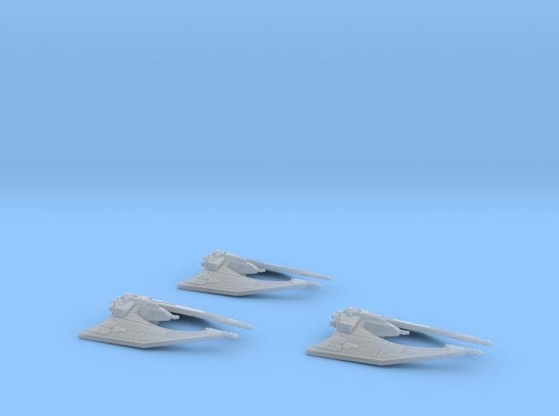 Miy'til Starfighter 1/270 x3 3d printed
