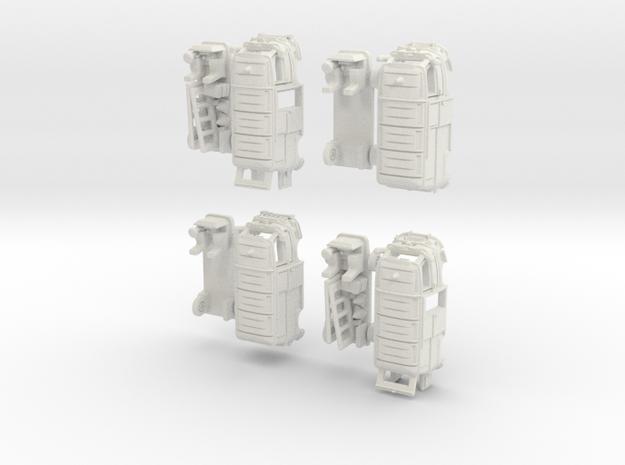 1-160 R-Estafette Fourgon Emergency SET 3d printed