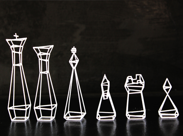 Pawn 3d printed King | Queen | Bishop | Knight | Rook | Pawn