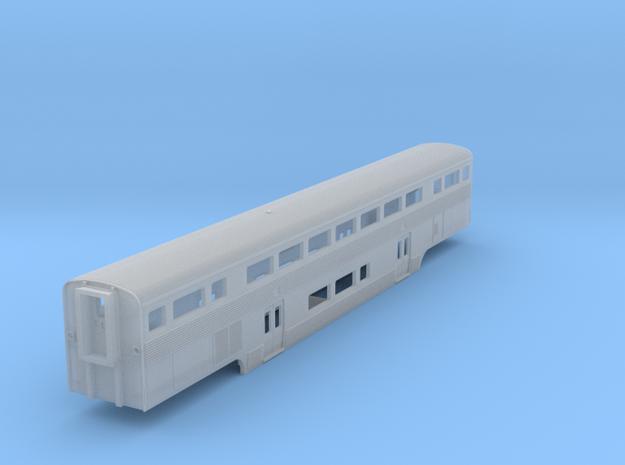 California Car Baggage Coach - Z Scale 3d printed