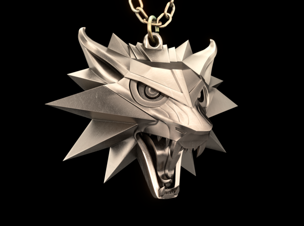 The Witcher 3 Medallion (Custom Design)
