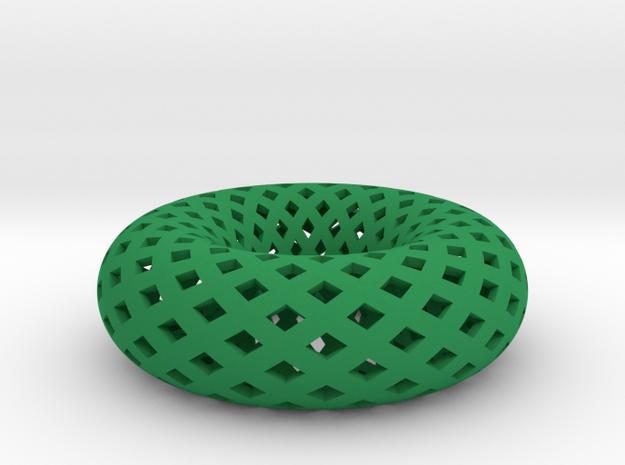 Torus in Green Processed Versatile Plastic