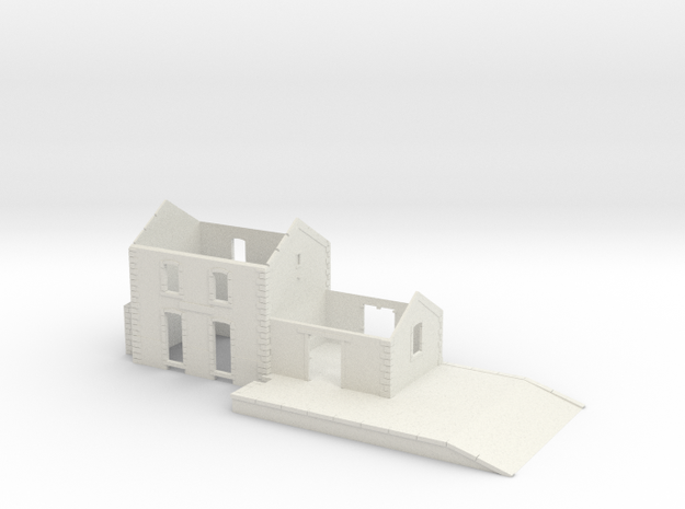 Gare CfD - Walls ( Nm Gauge ) 3d printed