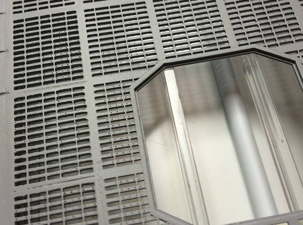 YT1300 DEAGO HALL GRILLE COMPLETE in Smooth Fine Detail Plastic
