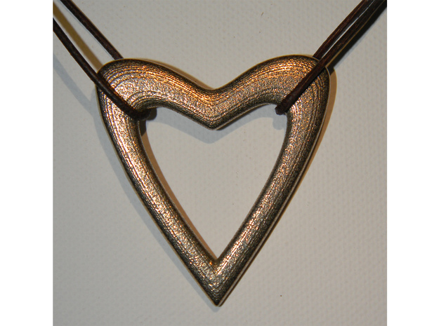 Heart in Stainless Steel