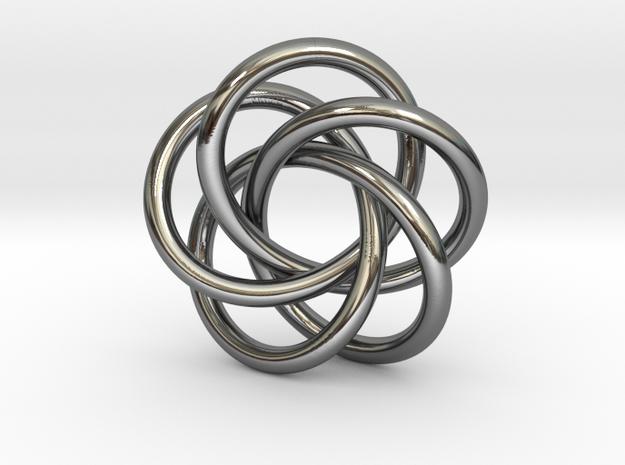 Torus Knot Pendant #2