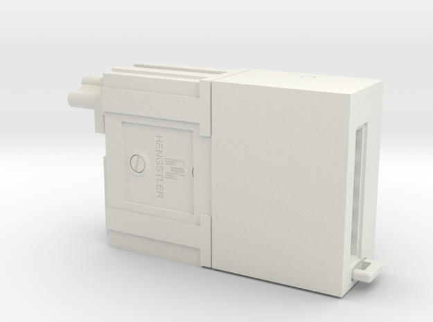 Hengstler Counter for E11 Blaster in White Natural Versatile Plastic