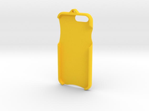 iPhone 6 - LoopCase in Yellow Processed Versatile Plastic