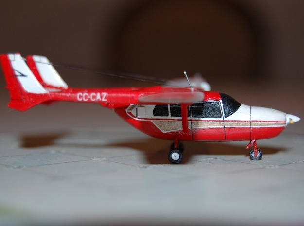 1/144 Skymaster 3d printed Another fantastic Cessna by Michel Anciaux