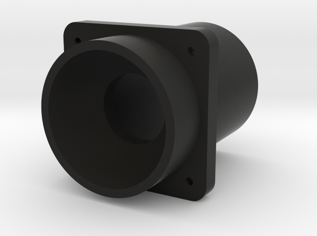 Button Starter Housing in Black Natural Versatile Plastic