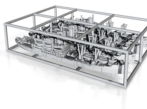 1/3000 US APA Bayfield (x4) 3d printed