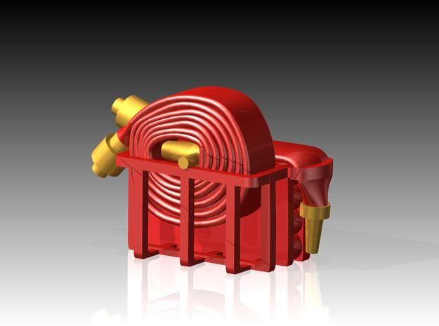 Fire Hose - Flaked & Rolled x 6 1/72