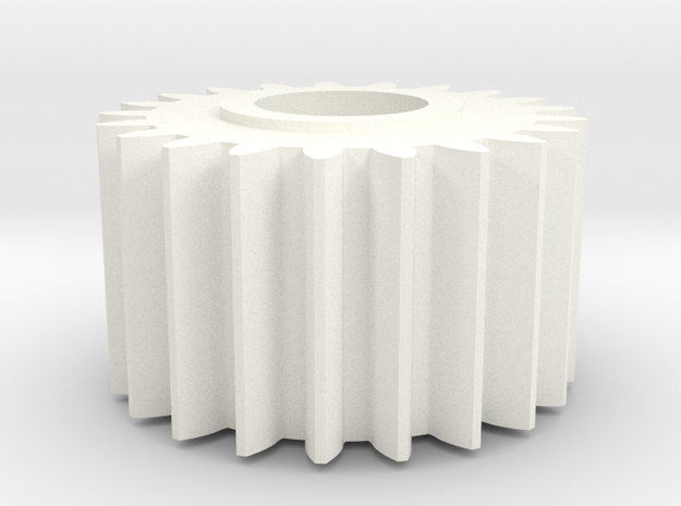Sinclair C5 Small Cog in White Processed Versatile Plastic